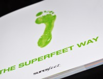 Superfeet Book Design