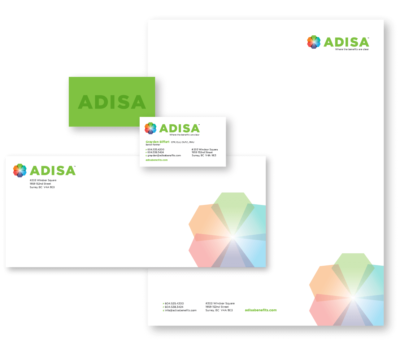 Adisa stationery package